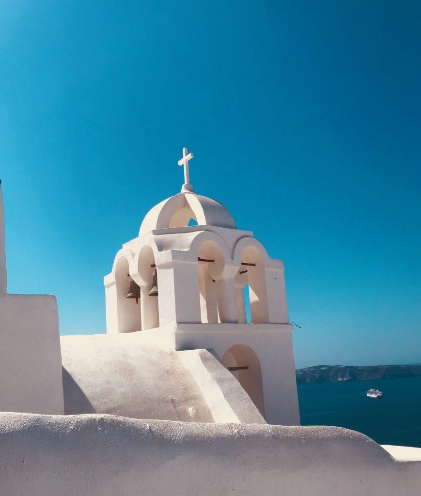 Une des nombreuses cathédrales blanches enduites à la chaux