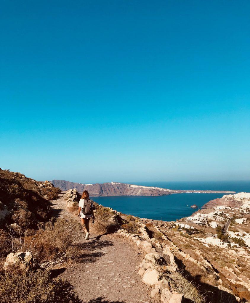 Randonnée entre Fira et Oia