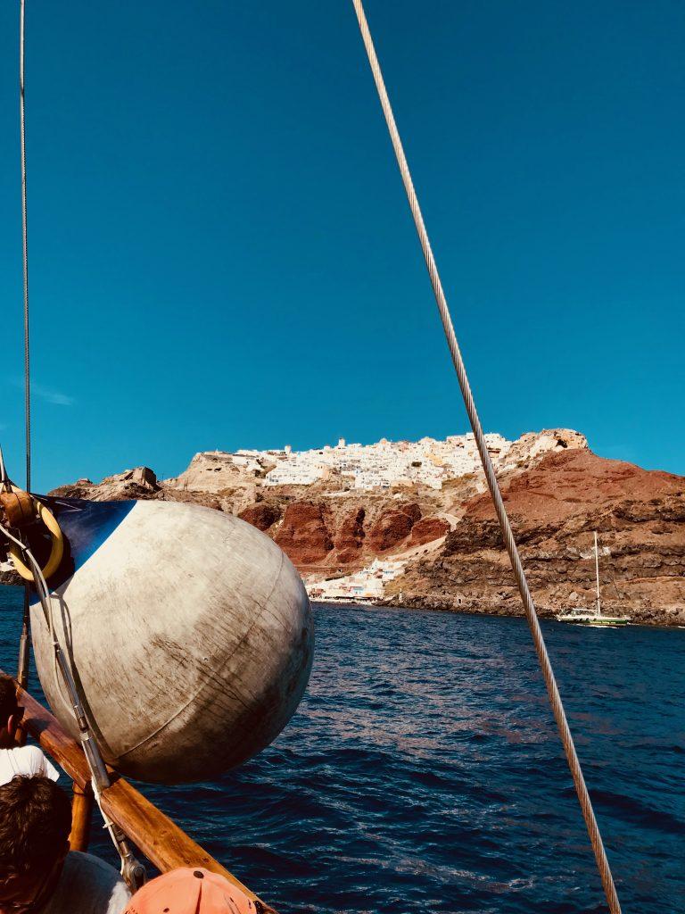 Traversée sur la mer Egée