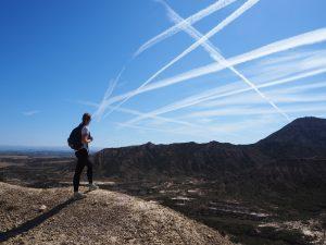 Randonnée dans le désert des Bardenas Reales