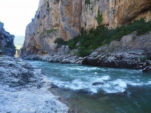 Le Foz de Lumbier, à proximité des Bardenas Reales