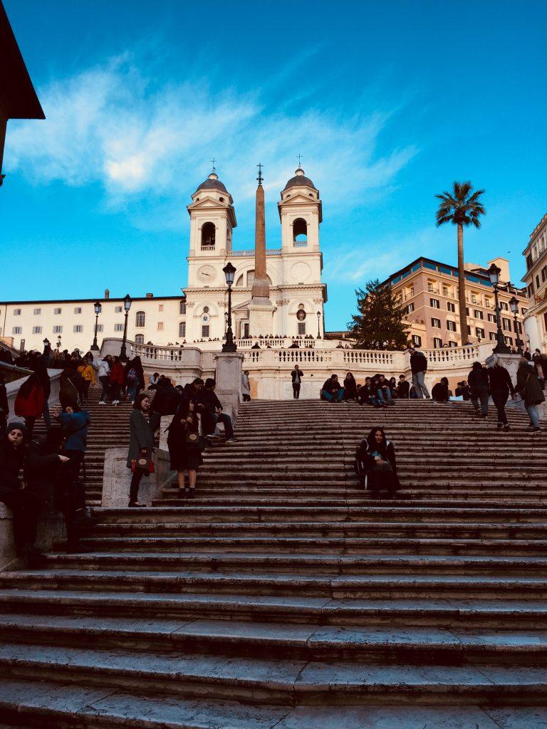 Escalier de la trinité des saints-monts