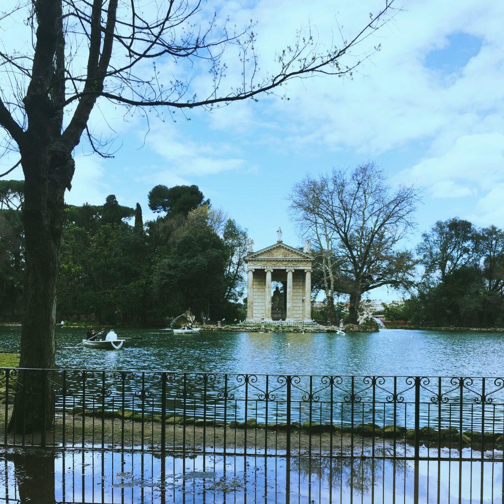 Jardins de la villa Borghese