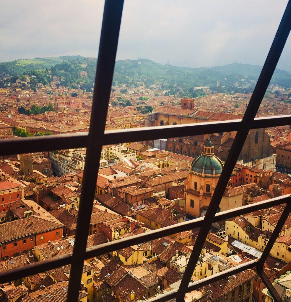 Vue depuis la tour Bologne