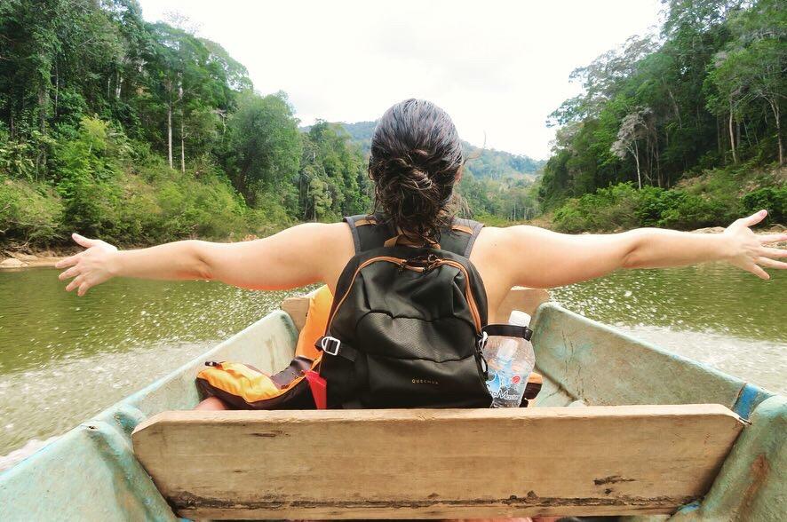 descente rivière taman negara