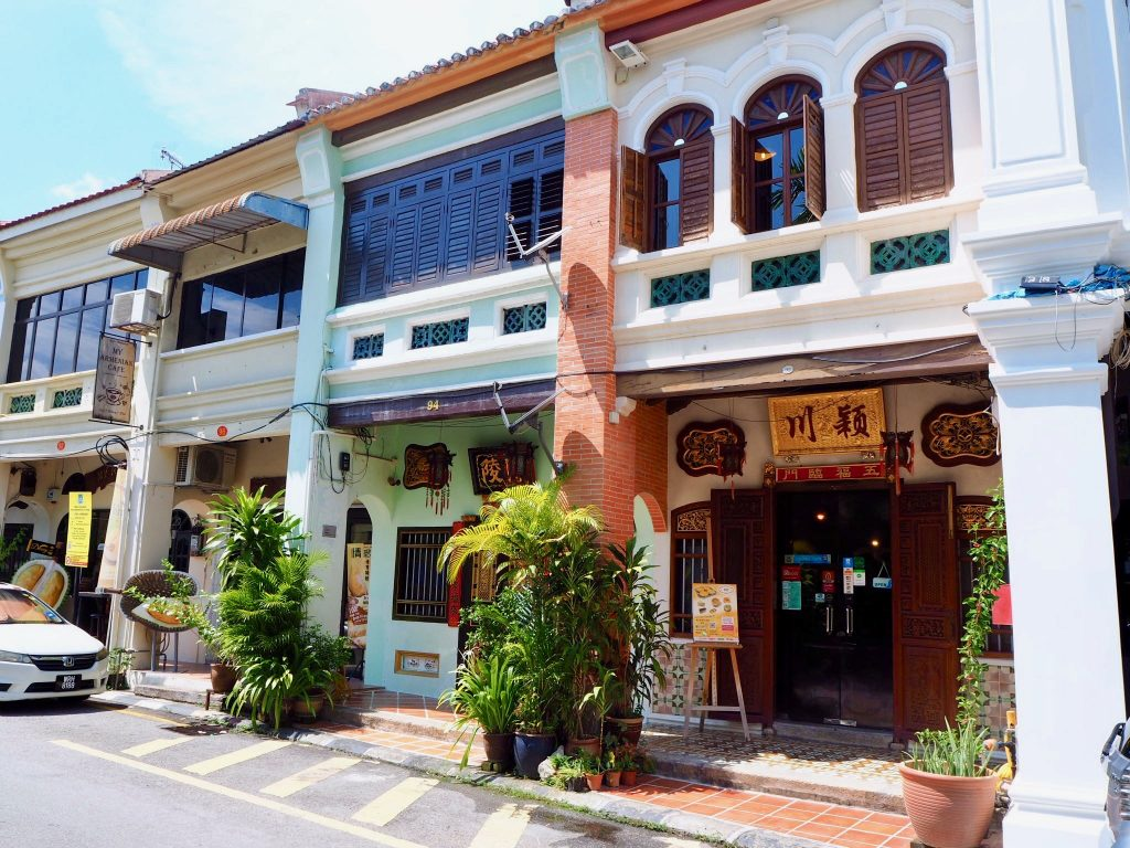 shophouse chinois