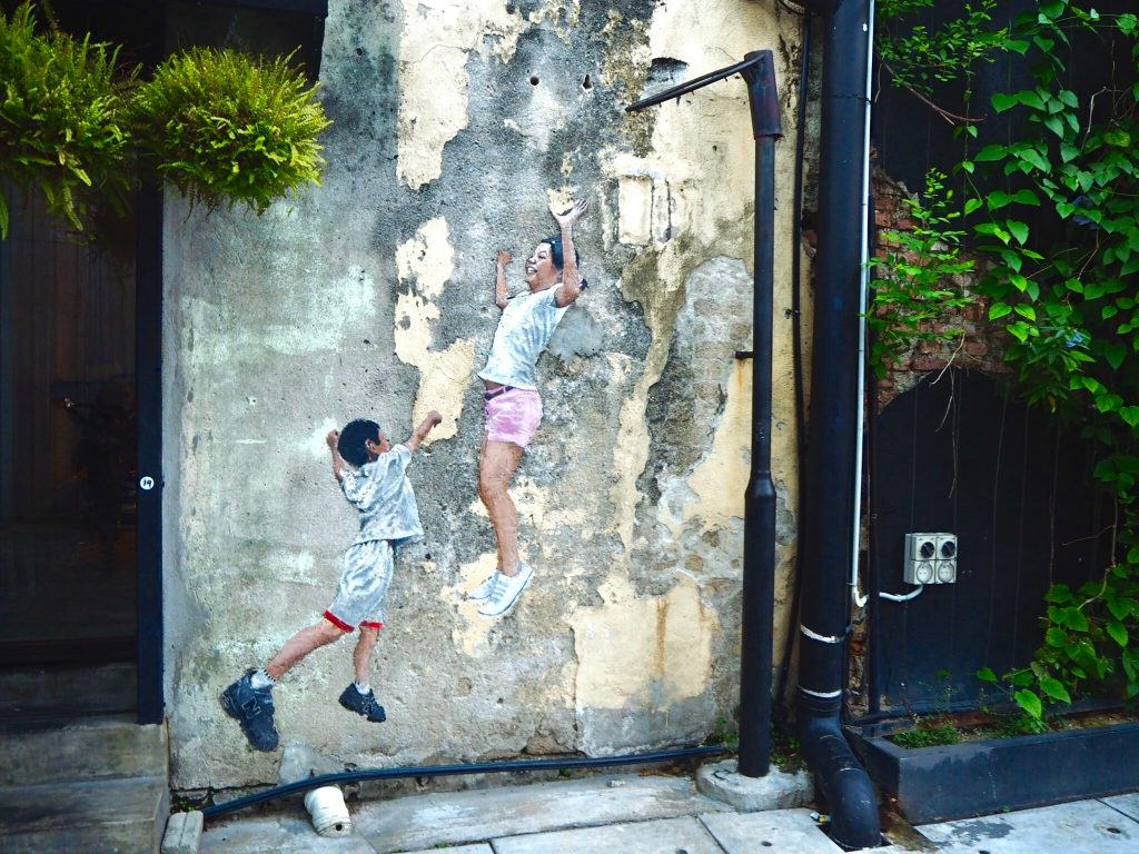 Street art Georgetown Malaisie