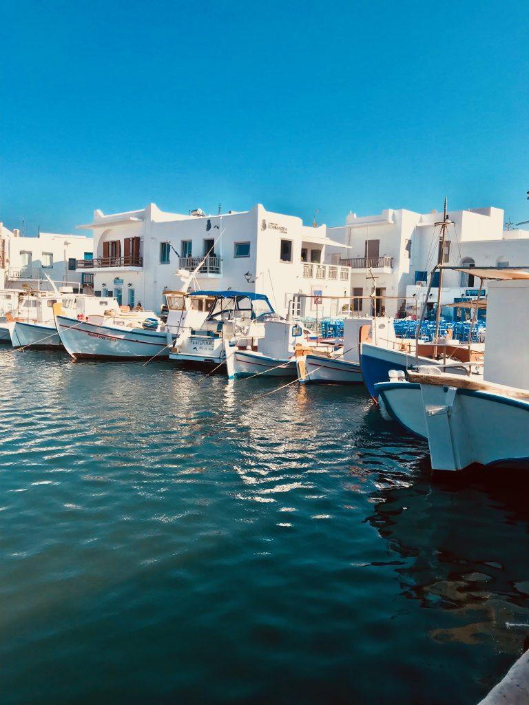 Naoussa port de pêche