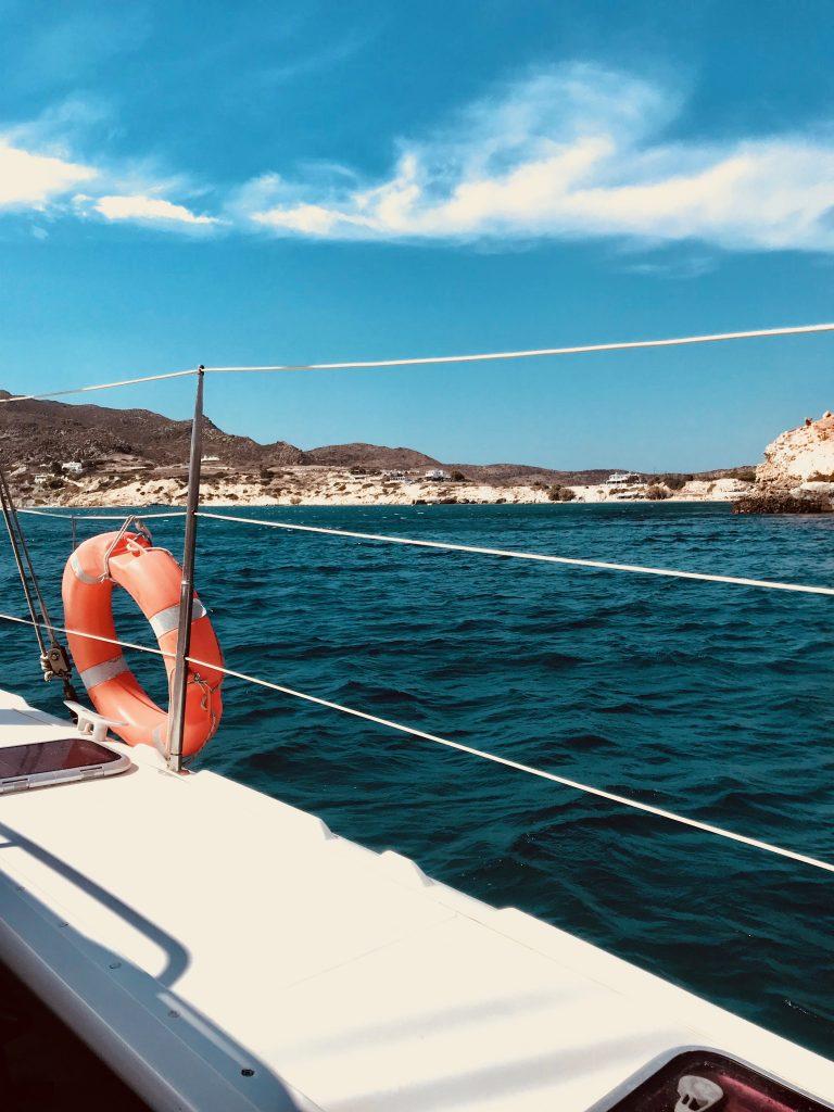 Sortie catamaran