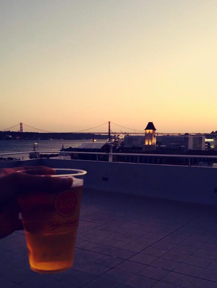 vue auberge Lisbonne