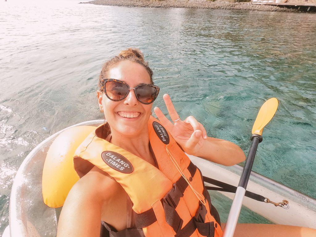 Kayak Terre-de-haut