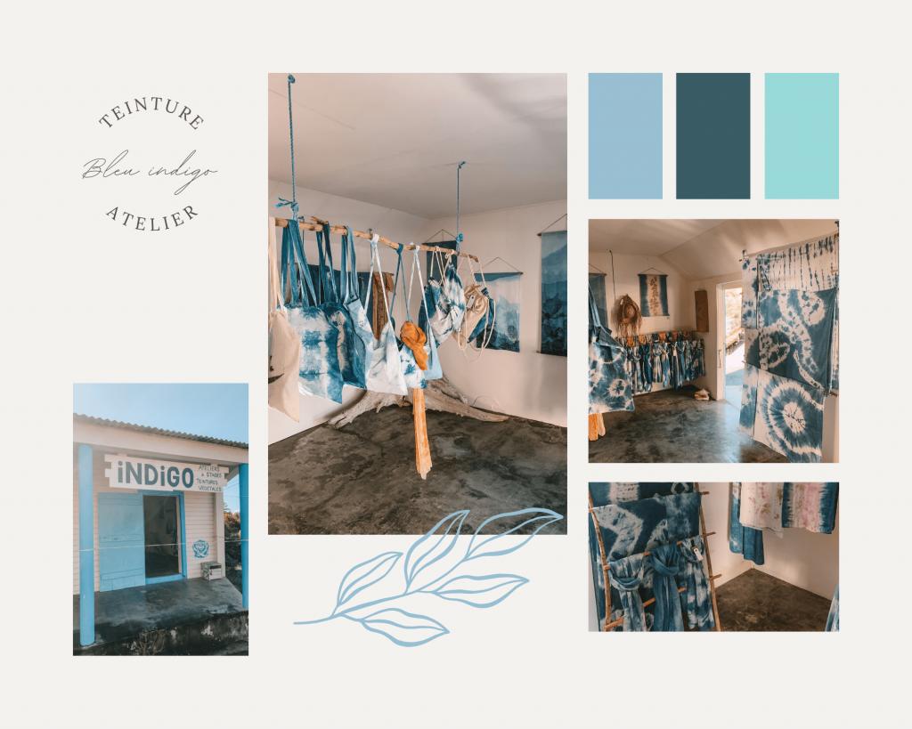 boutique bleu indigo la désirade