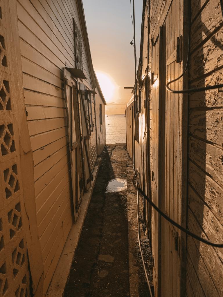 village de deshaies - guadeloupe