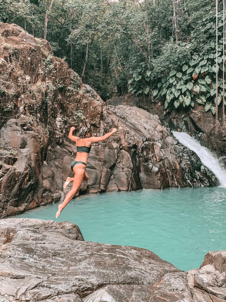 Saut d'Acomat - itinéraire 10 jours en Guadeloupe