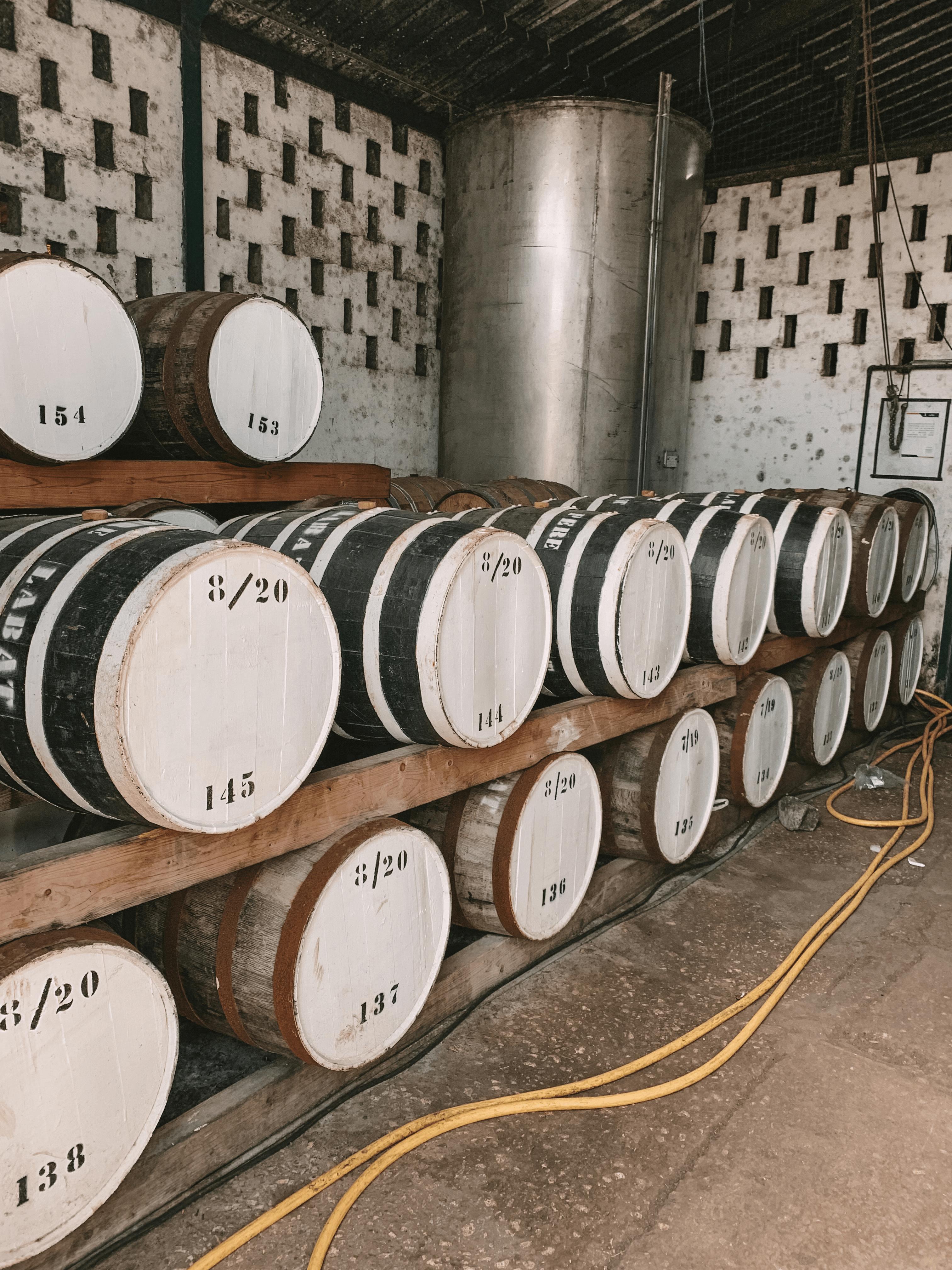 Distillerie Poisson à Marie-Galante