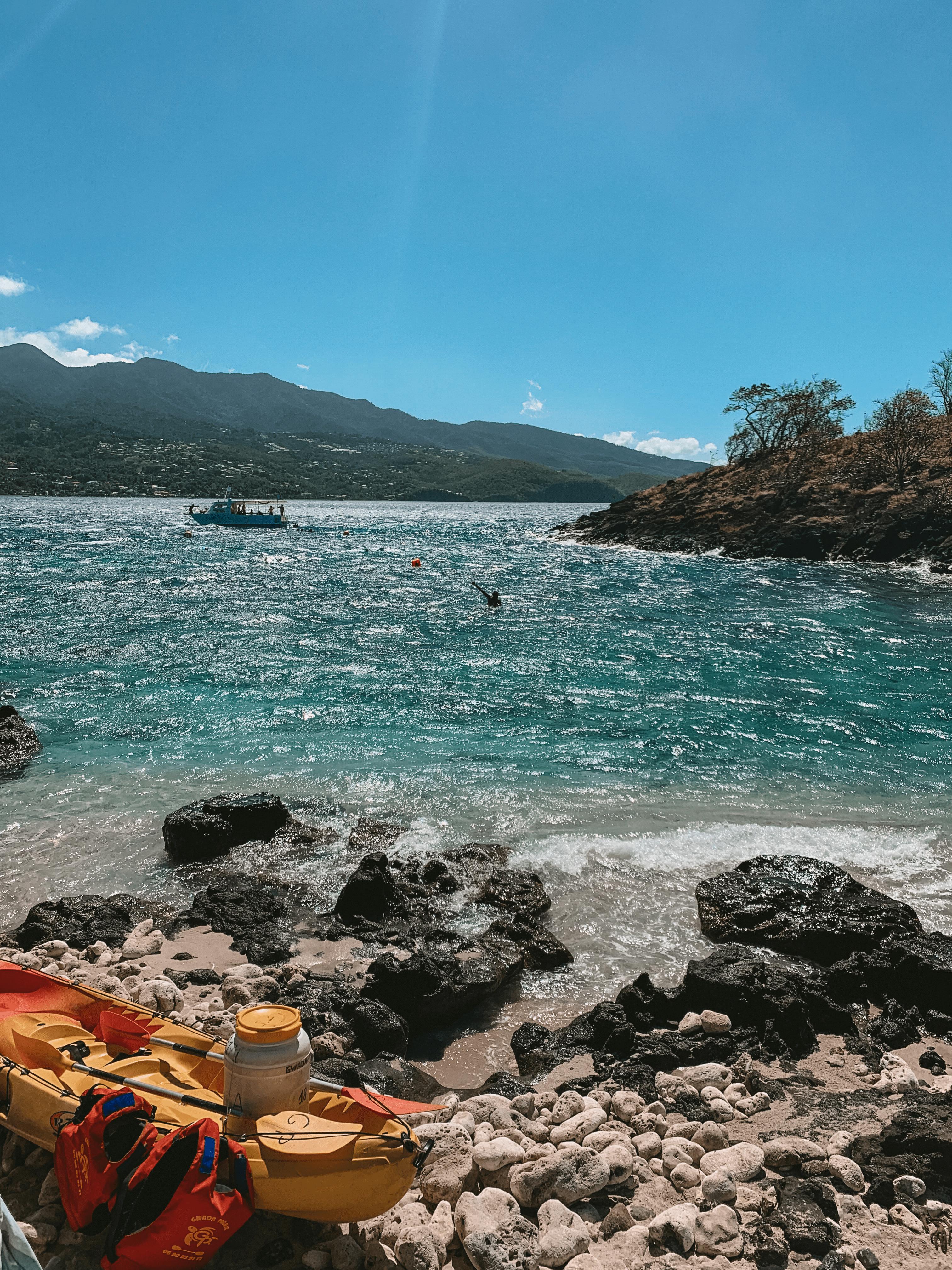 Ilet Pigeon- Réserve Cousteau