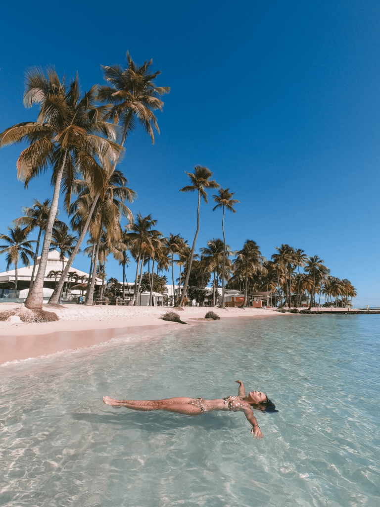 plage caravelle Guadeloupe