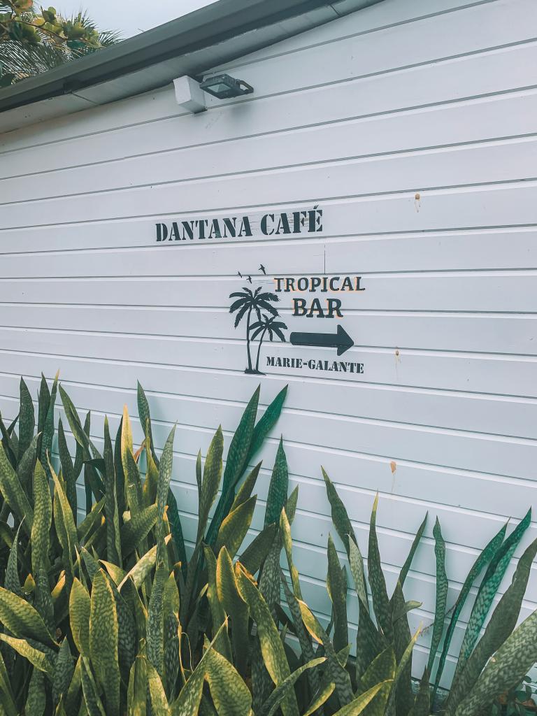 Dantana Café à Marie-Galante