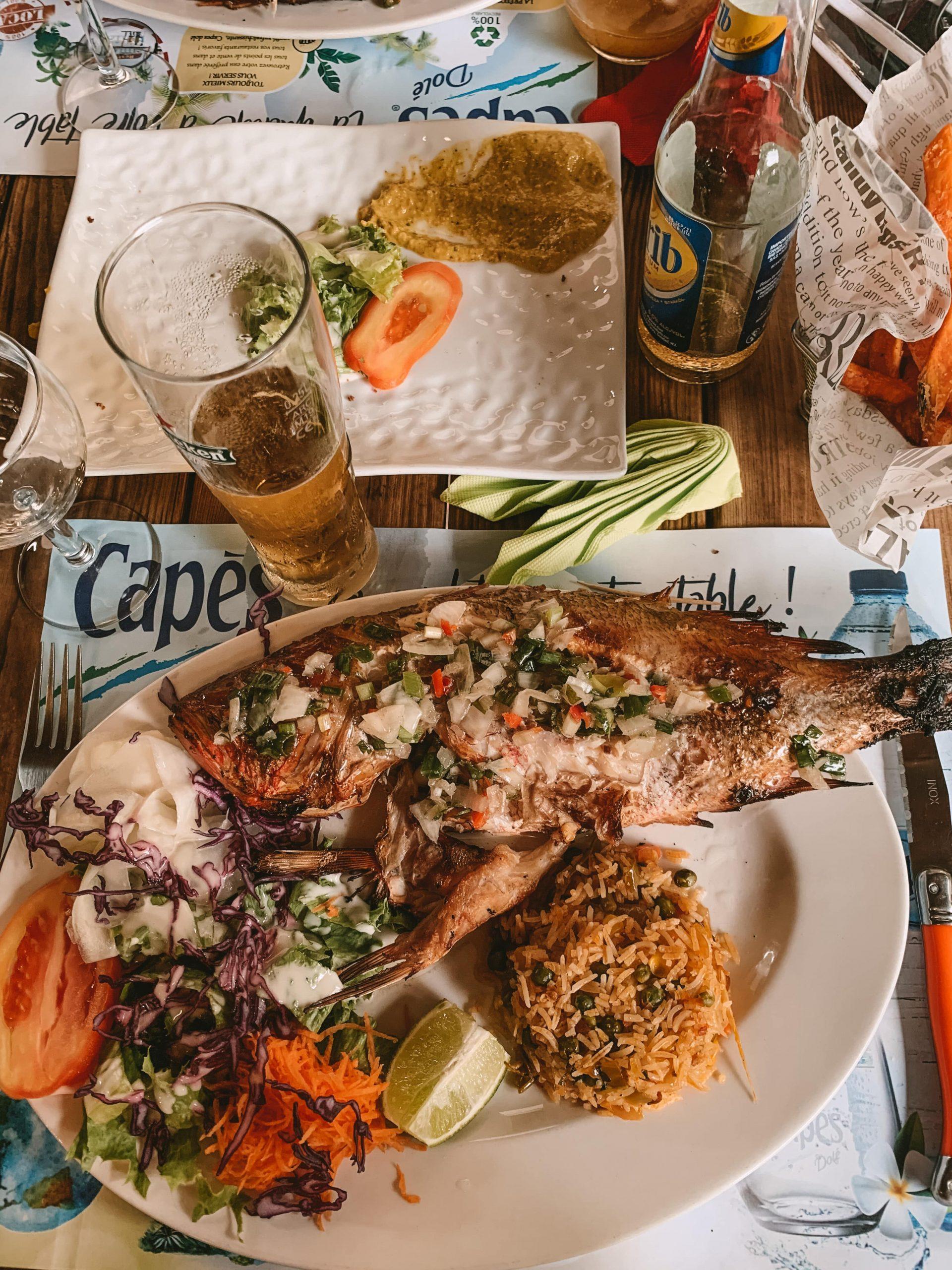 Spécialités culinaires en Guadeloupe